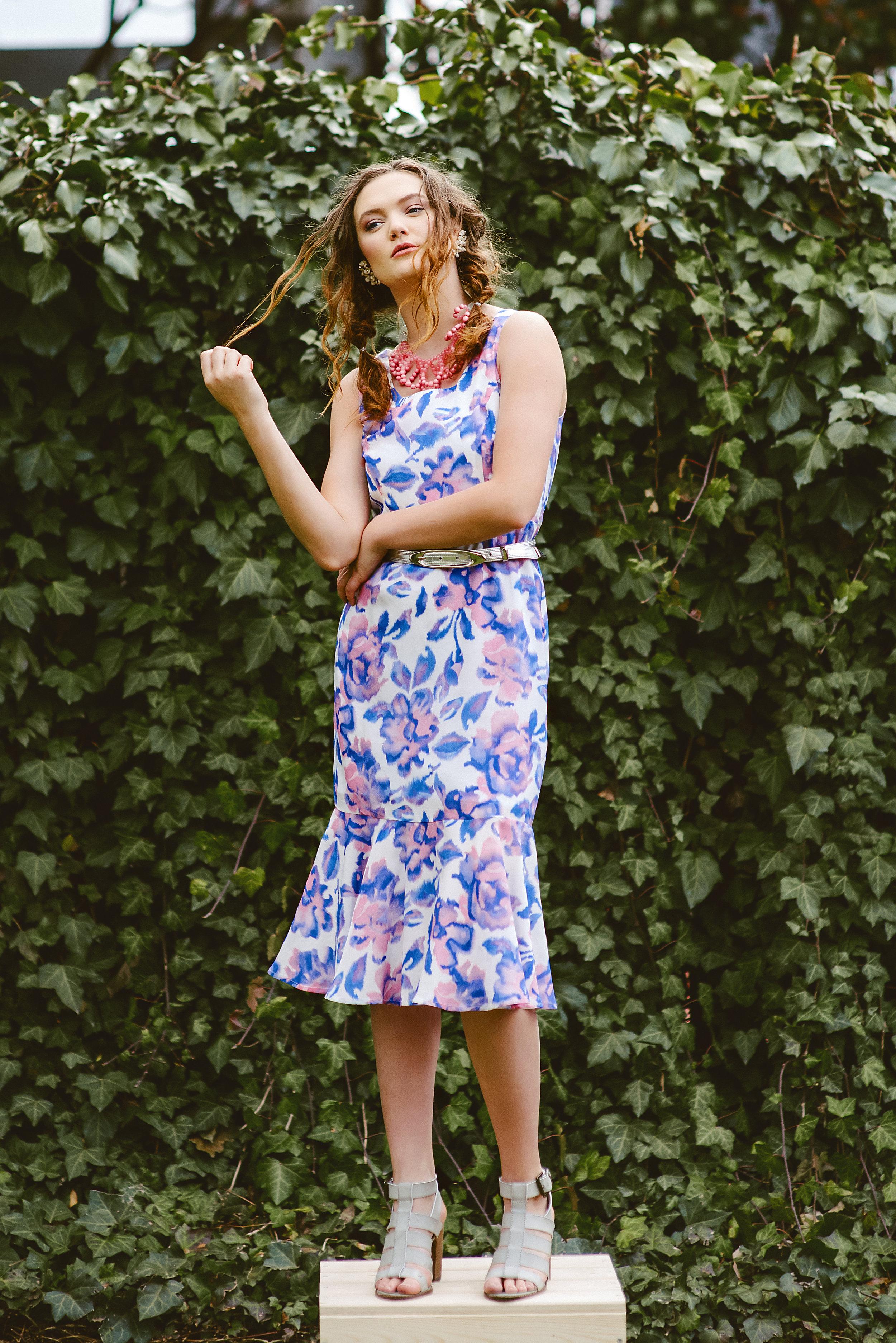 AK Spring/Summer '17 - Angela Kim Designs-Asheville, NC (model- Faye Foley)