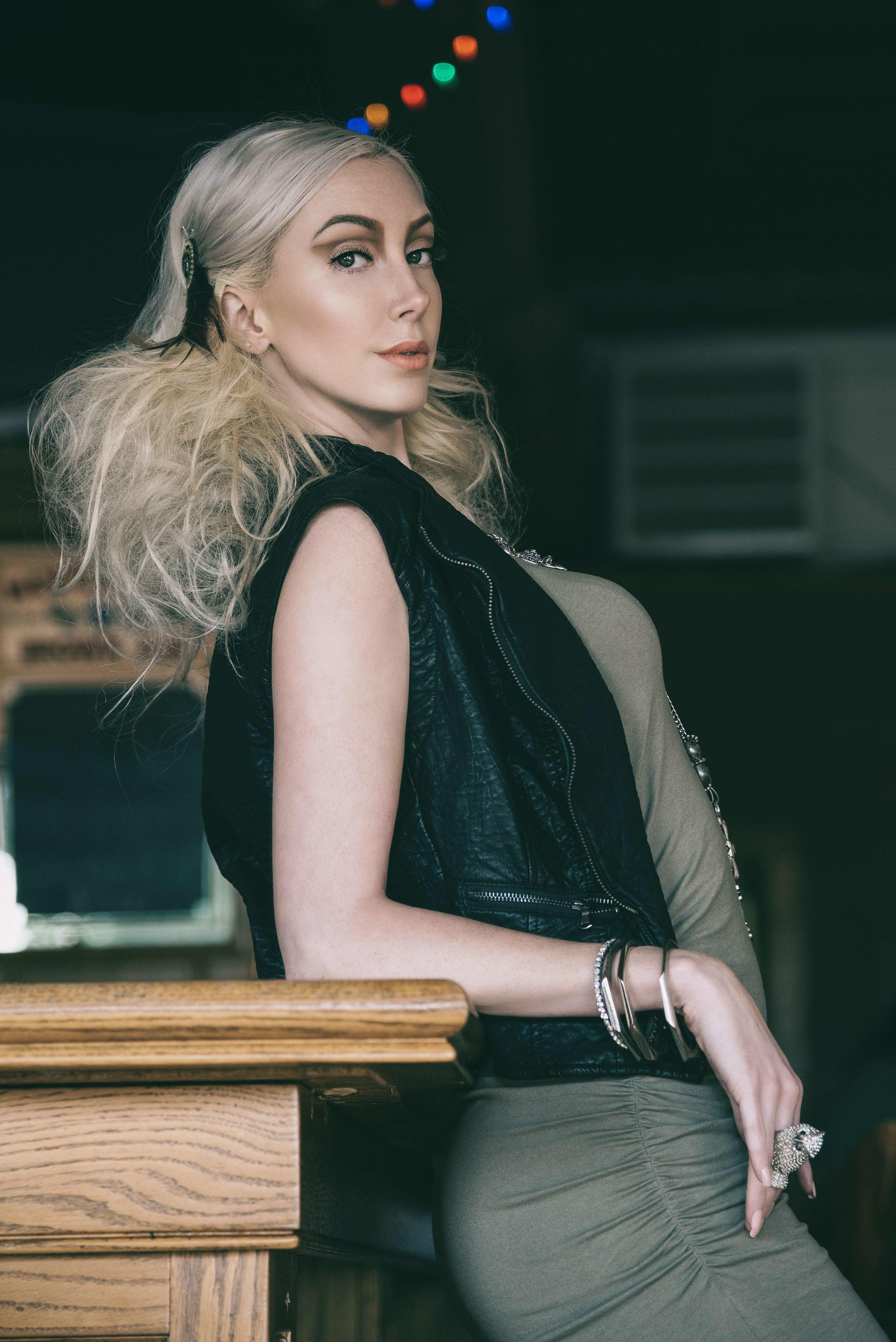 Cocktail Hour '16 - Pump Magazine April 2016 Model Raeven Tibbs