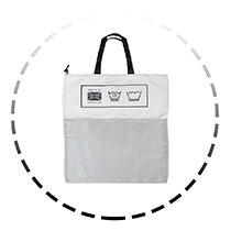 Place in complimentary washbag
