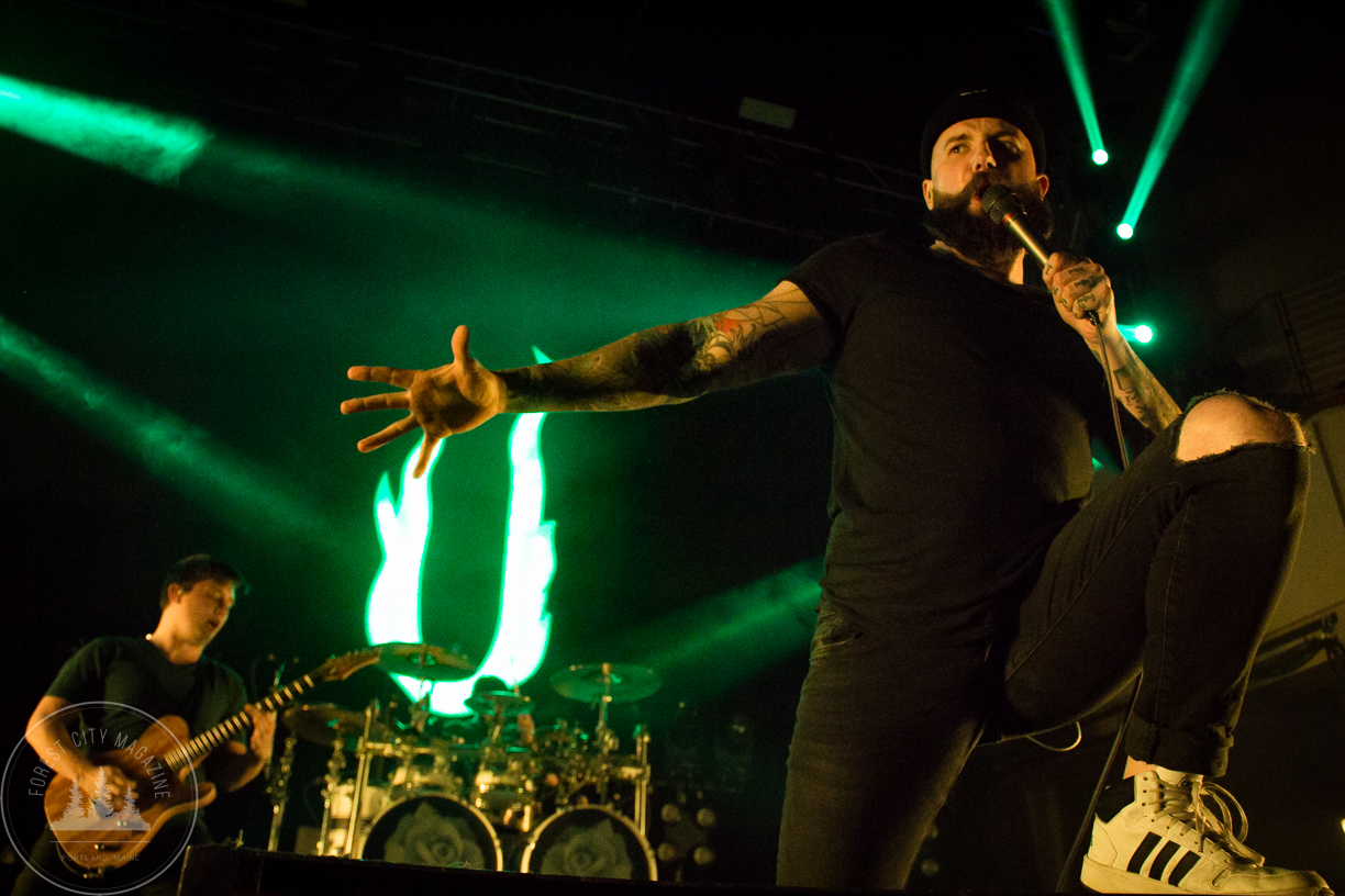 August Burns Red - Photos By: Kenneth Coles