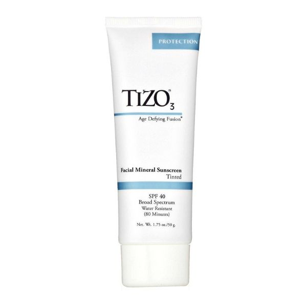 Tizo3 Tinted Mineral Face SPF 40 - This is one of my very favorite SPFs. It feels like silk when you apply it and it makes your skin look really beautiful. Sunblock is the most important skin product you'll own. If you don't have a favorite yet you'll have to try this one out!