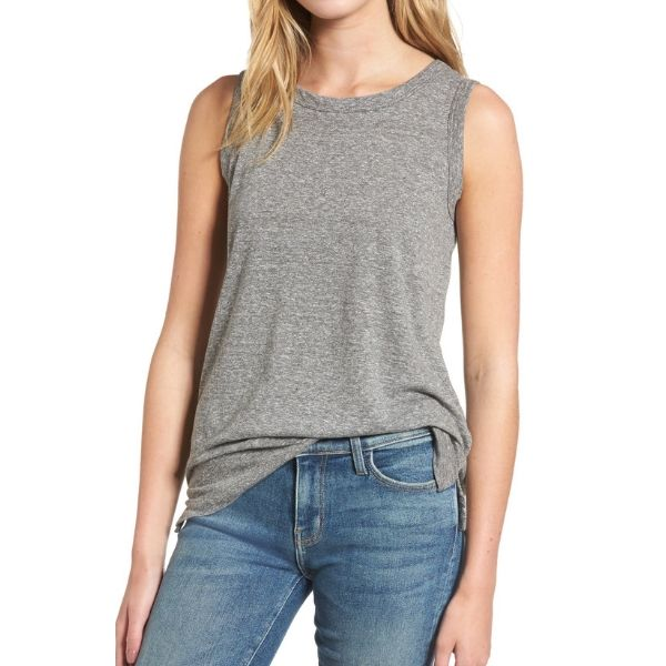 Current Elliott Muscle Tee Tank - This is my favorite tank of all time. I could wear it every day… what am I saying, I basically do. If you need a basic, but super cute tank that you can wear alone or layer this is the one and only. The cut, fabric, fit is all perfection. I need it in every color!