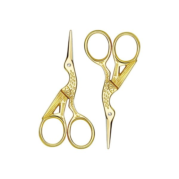 Poen Stork Brow Shaping Scissors - I have used these scissors and the Tweezerman Stork scissors forever. I like the size (3.6 inches) and they are really easy to control. As a professional I have both this size and shape of scissors and the ones pictured below. However I use the Stork scissors far more than the other short ones. While we are on the topic of scissors I don't recommend people trimming their own eyebrows, let the professionals keep them maintained.