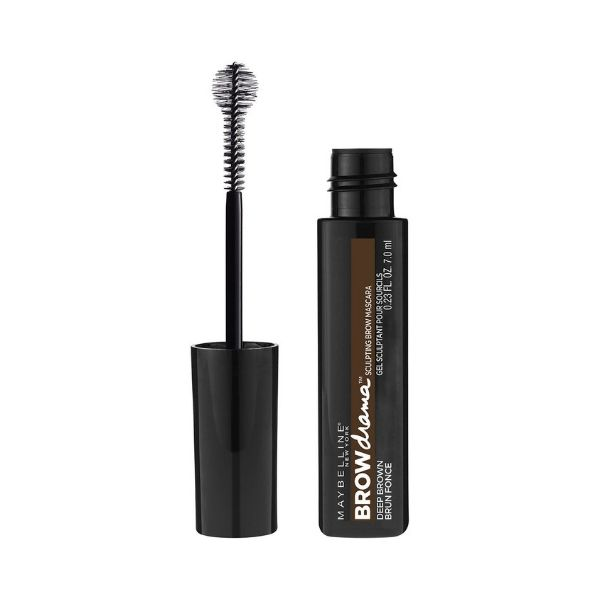 Maybelline Brow Drama - One of my all time fave Brow products! Maybelline really outdid themselves with this one. The amount of gel on the brush is really nice, but what really sets it apart is the ball on the end of the brush. It's so inventive and totally works! You're able to grab all the hairs and give them a little color and shape. Beside the product and brush being great, the price point is too. My favorite is the Dark Brown. If you are looking for a clear brow gel this one is great in clear as well.