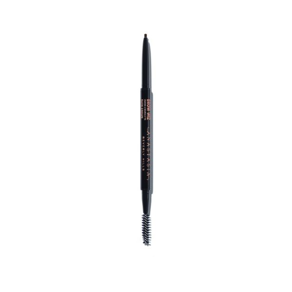 Anastasia Brow Wiz - I love this product to fill in places where you have holes in your eyebrows or there is a spot that is really sparse and won't grow hair. It goes on really nice and blends well. You can use it to fill in your entire brow as well as spot treating. I like that it has a brush on one end because once you fill in your brows going over it with the brush afterward gives it the perfect finish and blends it all in and makes it look natural!