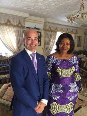 - In May I was discussing woman leadership in Africa with the First Lady of The Republic of Guinea Her Excellency Djene Kaba Conde but also developing relationship in California the eighth largest economy in the world. The Consulate of the Republic of Guinea for the State of California is working on some major partnerships, good news coming soon...