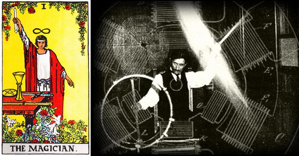 The RWS Magician, Nicola Tesla