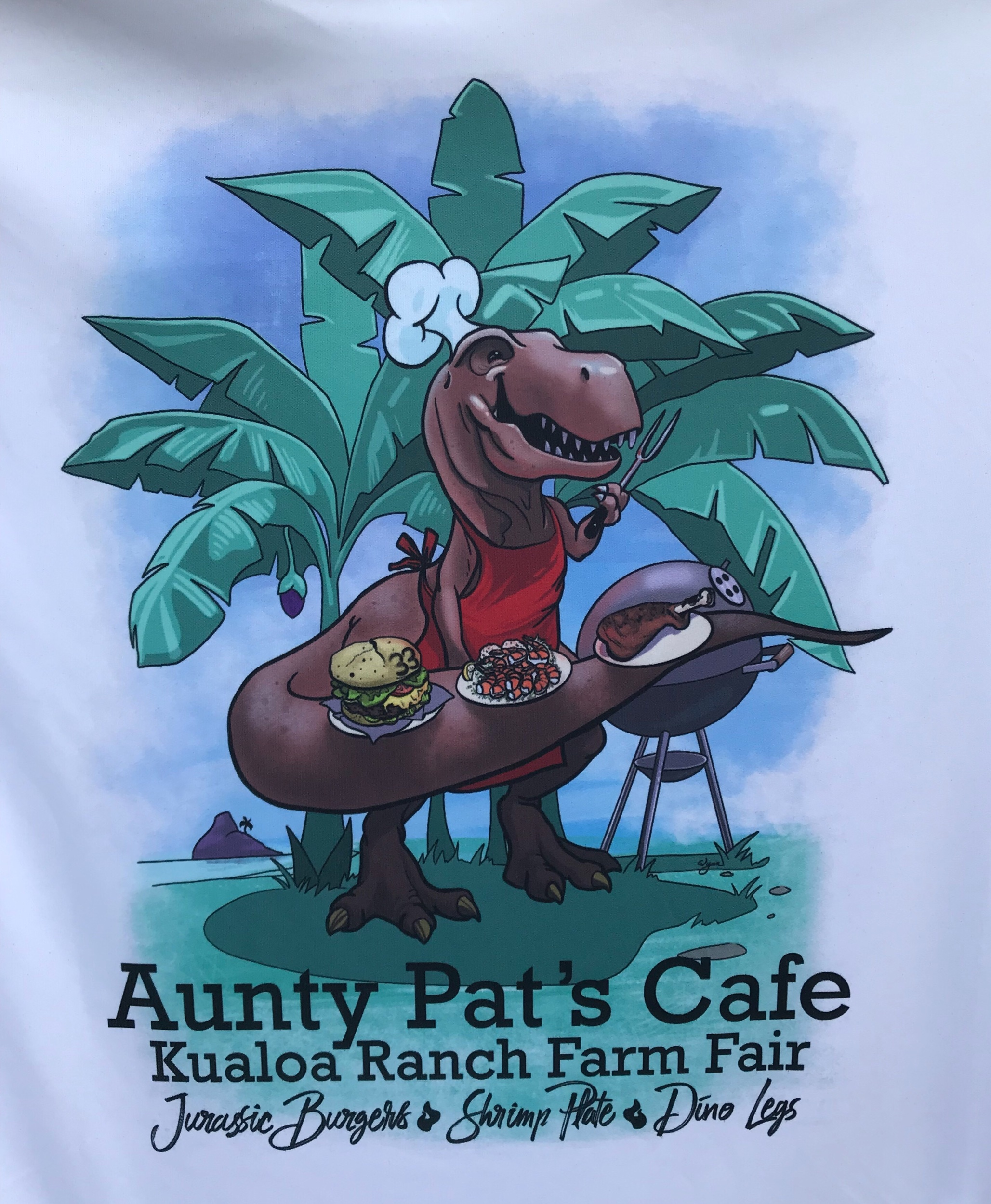 2019 Kualoa Farm Fair t-shirt Design for Food and Beverage.