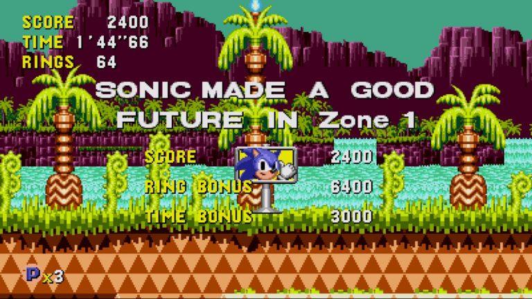 As mecânicas de Sonic CD abordam diretamente a ideia de desenvolvimento sustentável e preservação.