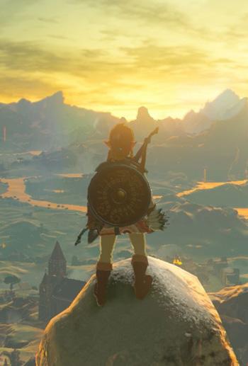 Zelda: Breath of the Wild traz uma abordagem própria de mecânicas de navegação em mundo aberto e crafting