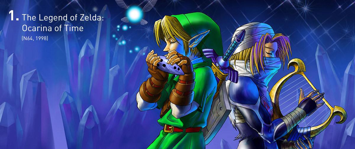 Ocarina of Time estabeleceu certas regras sobre exploração de espaços em 3D, utilizadas até hoje por outros jogos. Ele foi também a apresentação máxima do estilo tradicional de Zelda, colocando em prática e aprimorando tudo que havia sido criado anteriormente.
