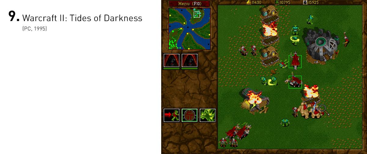 Warcraft II ajudou a estabelecer o gênero de estratégia em tempo real, com mecânicas bem equilibradas e inúmeras novidades, que acabaram sendo abraçadas pelo gênero como um todo. Foi tão bem sucedido que ajudou a Blizzard a entrar para o panteão dos estúdios lendários de games para PC.