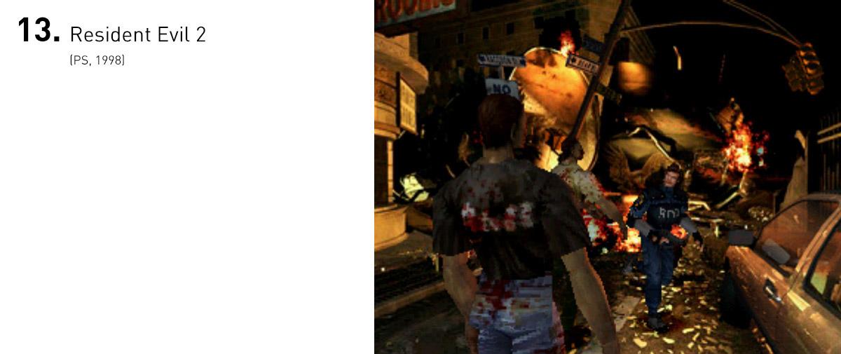Além de melhorar as mecânicas introduzidas no primeiro Resident Evil, a continuação trouxe duas campanhas bem diferentes uma da outra, eventos marcantes na série e novos modos de jogo, que fizeram dele um dos títulos mais apreciados de toda a franquia.