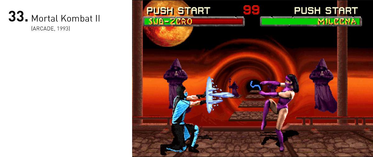 Mortal Kombat II melhorou tudo que havia sido introduzido no primeiro, ajudando a estabelecer a série como uma das principais e mais impotantes de seu gênero.