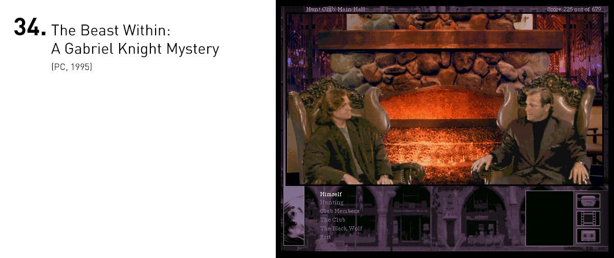 Gabriel Knight 2 conta com uma trama bem escrita, baseadas em mitos, personagens e locais reais. Da ópera criada especialmente para o jogo aos quebra-cabeças inventivos, a continuação tem boas razões para ser lembrado como um dos melhores jogos em FMV já feitos.