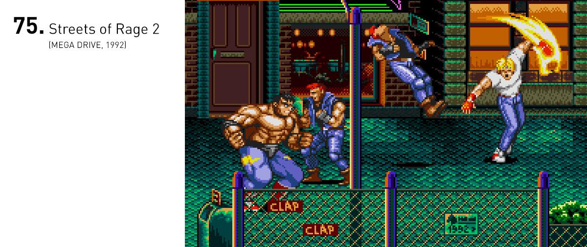 Acompanhado de uma trilha sonora eletrônica excepcional e gráficos atraentes, Streets of Rage 2 elevou o nível dos beat 'em ups.