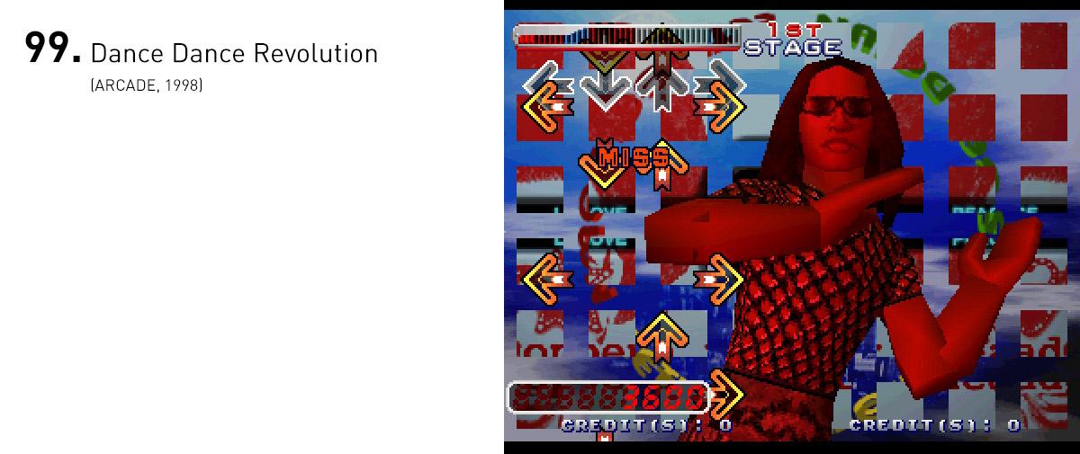 Fazendo jus ao nome, Dance Dance Revolution deu início a uma febre de jogos de dança, nos arcades e consoles.