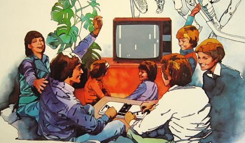 Detalhe da caixa do Magnavox Odyssey 200 (crédito:  pongmuseum.com )