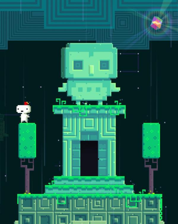 A trilha de Fez é entrelaçada com seu gameplay