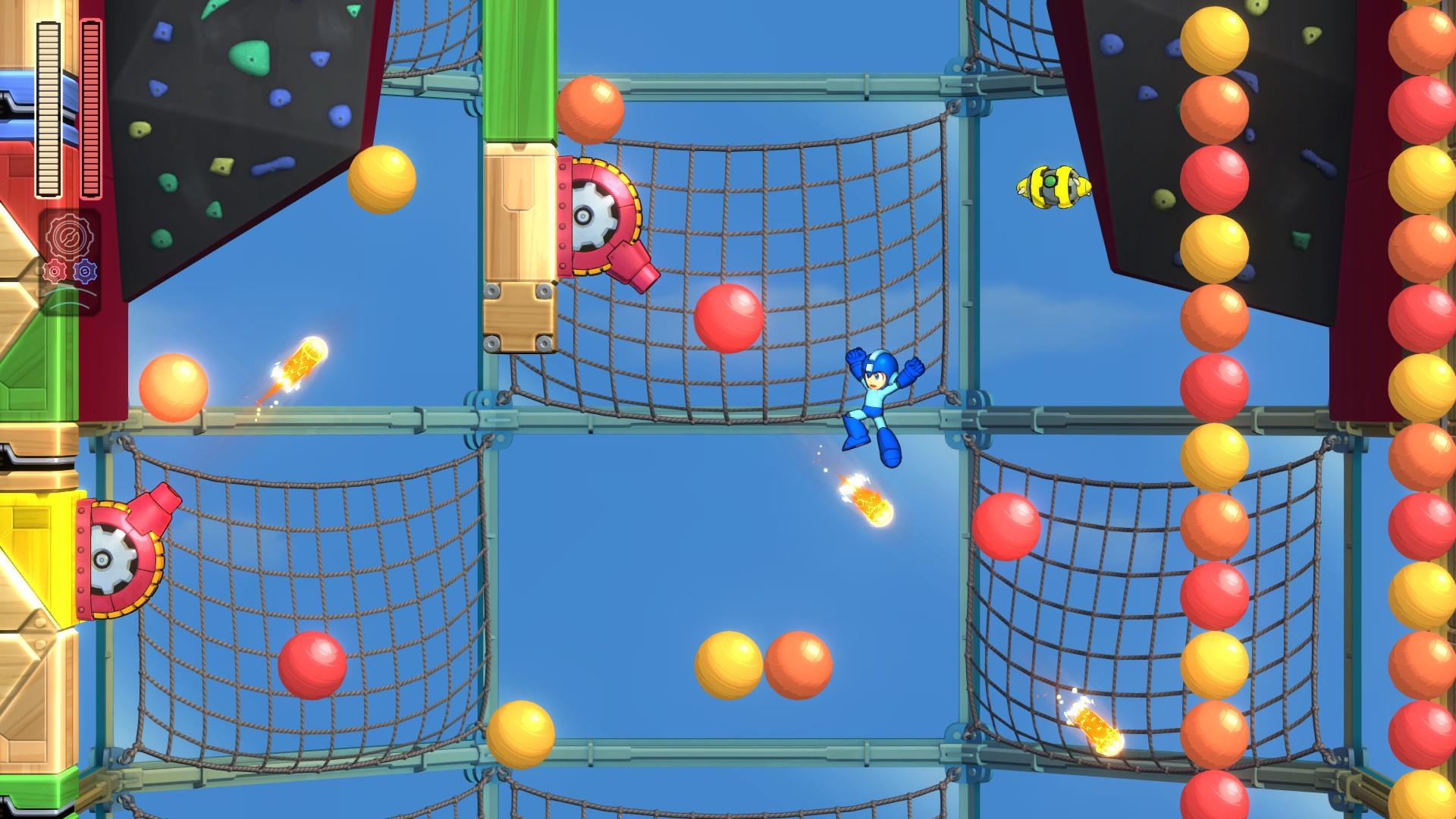 Algumas fases, como a do Bounce Man, são visualmente muito feias