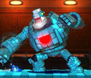 Block Man muda completamente de visual no meio da luta