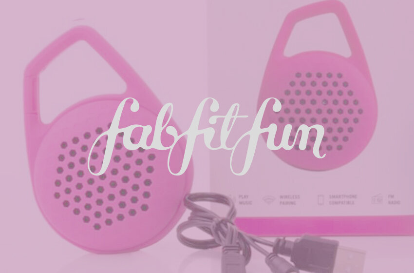 Fab Fit Fun - Developing custom bluetooth speaker for Monthly Subscriptions