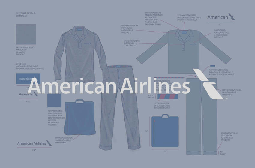 American Airlines - First Class apparel for comfortability during Flights
