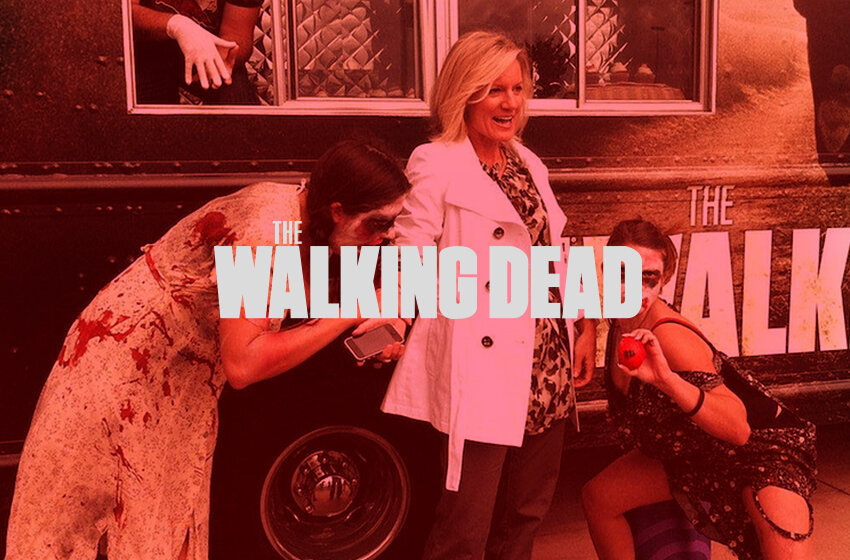 Walking Dead Campaign - Experiential marketing for the show in select cities
