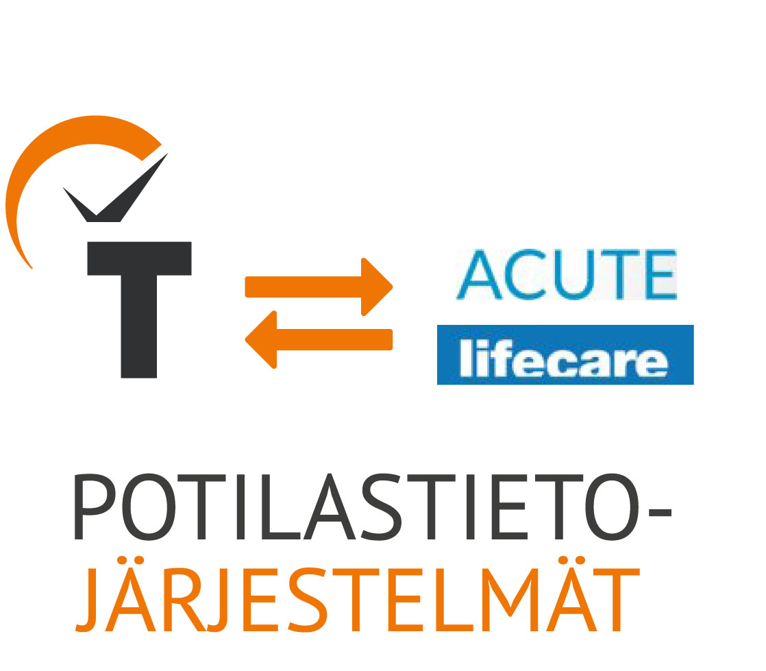 JÄRJESTELMÄINTEGRAATIOT - TIMMI Smart Hospital integroidaan aina asiakkaan olemassaolevaan potilastietojärjestelmään. Rajapinnan avulla se poimii potilaiden ajanvarauksista olennaiset tiedot. Tämän ansiosta vastaanottoajoille voidaan automaattisesti varata oikean tyyppinen huone ilman käsityötä.
