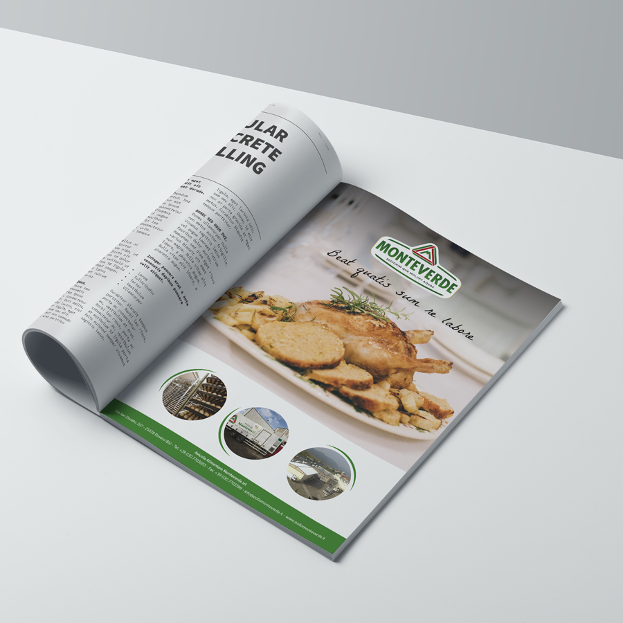 Monteverde - Una passione avicola che dura da più di 70 anni e un brand giovane che esprime il piacere di gustare cibo sano.