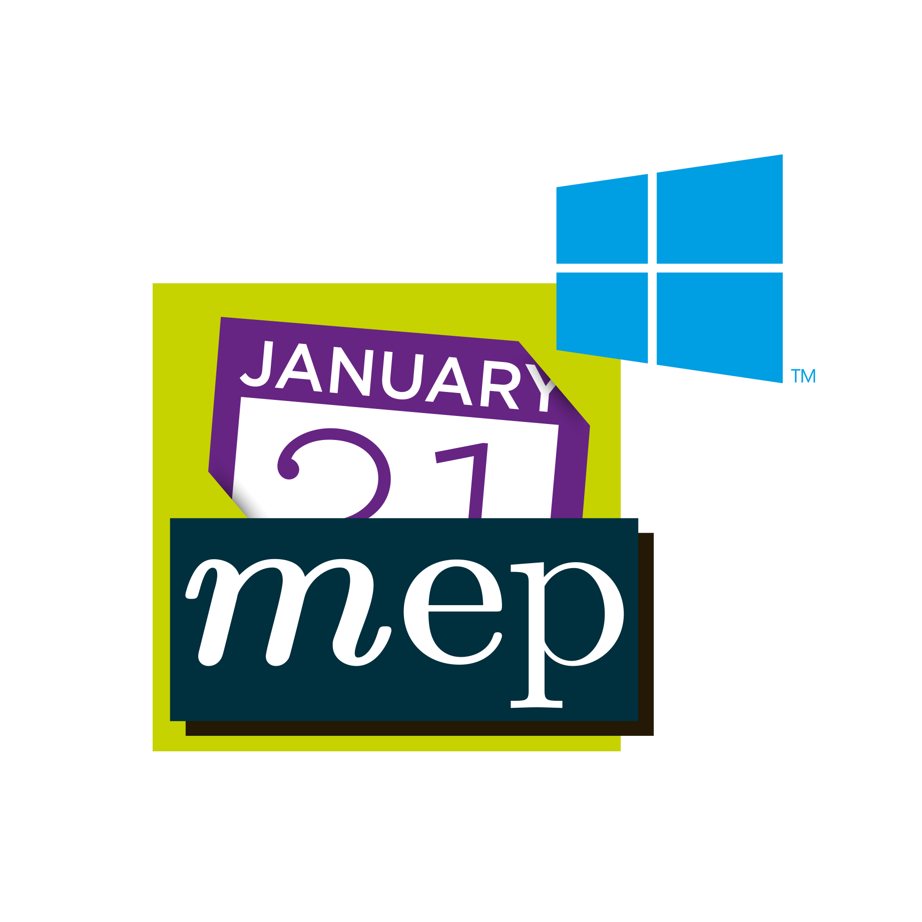 Calendars application for Windows -