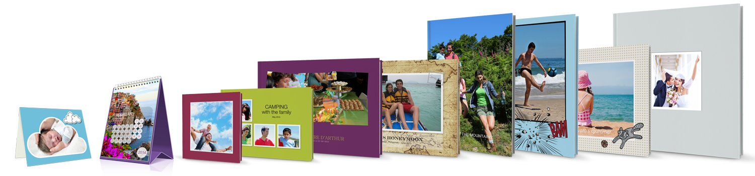 Photo book formats