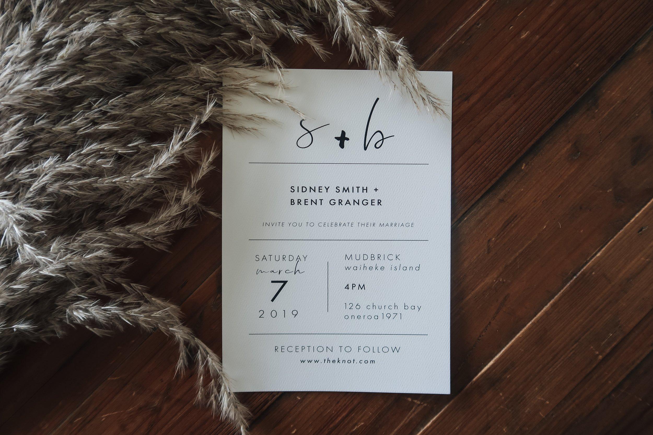 Meadow Invitation