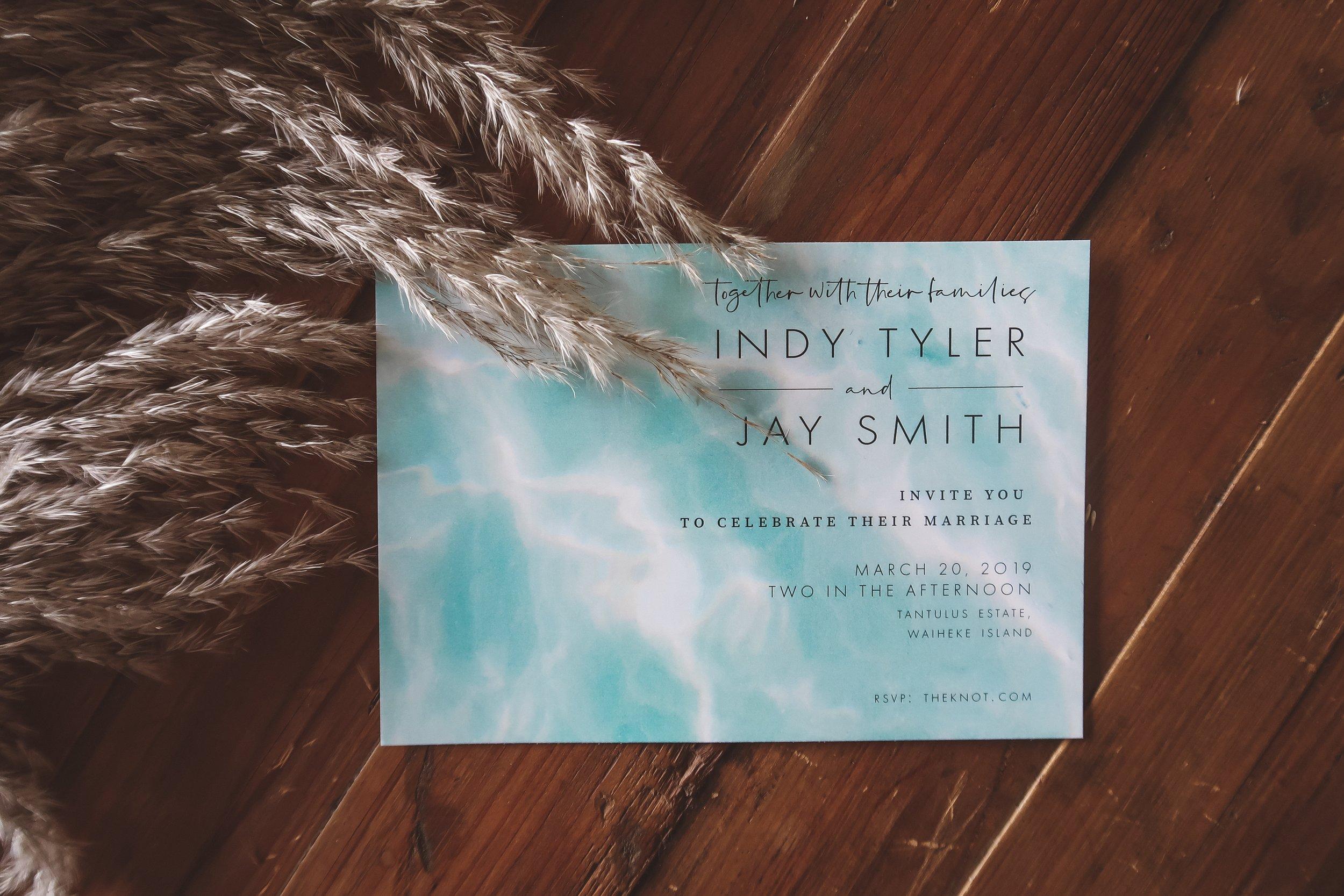 Tide Invitation