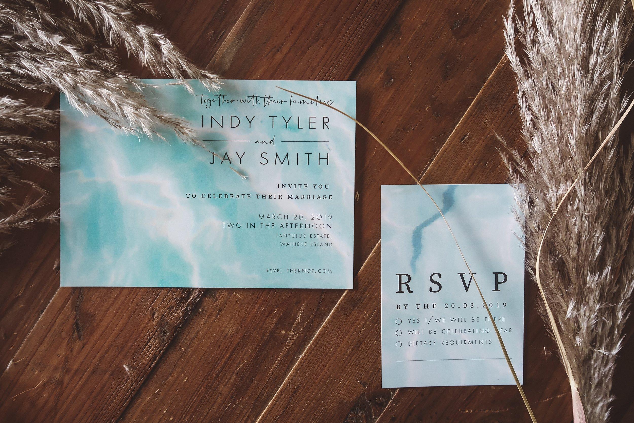 Tide Invitation + RSVP