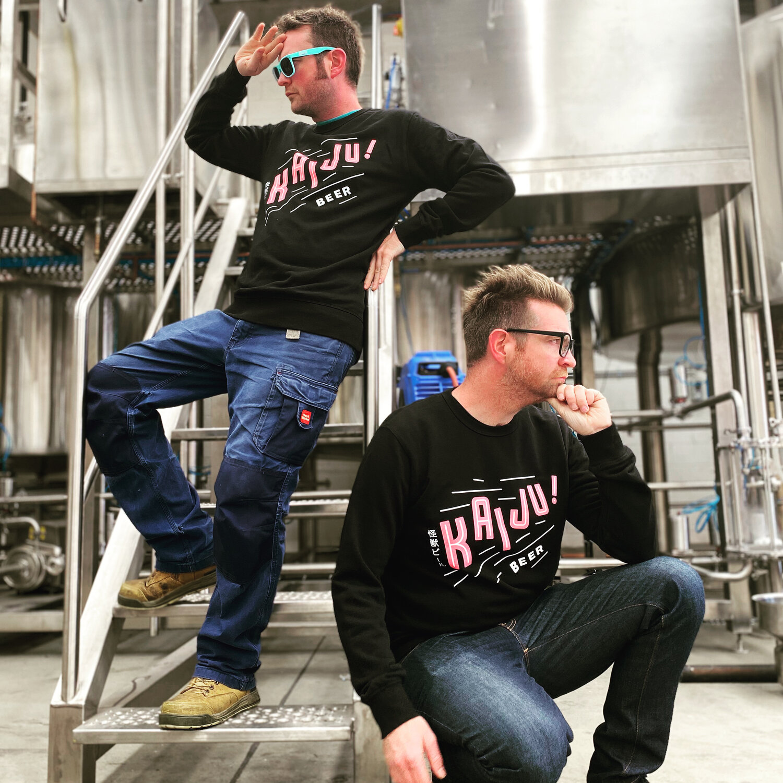 Nerdy beer scientists, Nat & Callum Reeves