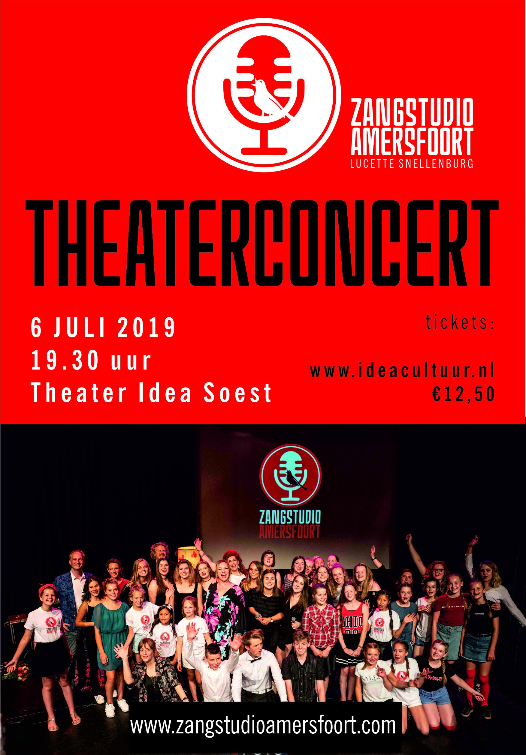 UITVERKOCHT!!! - Joepie, het theaterconcert 2019 is uitverkocht!!