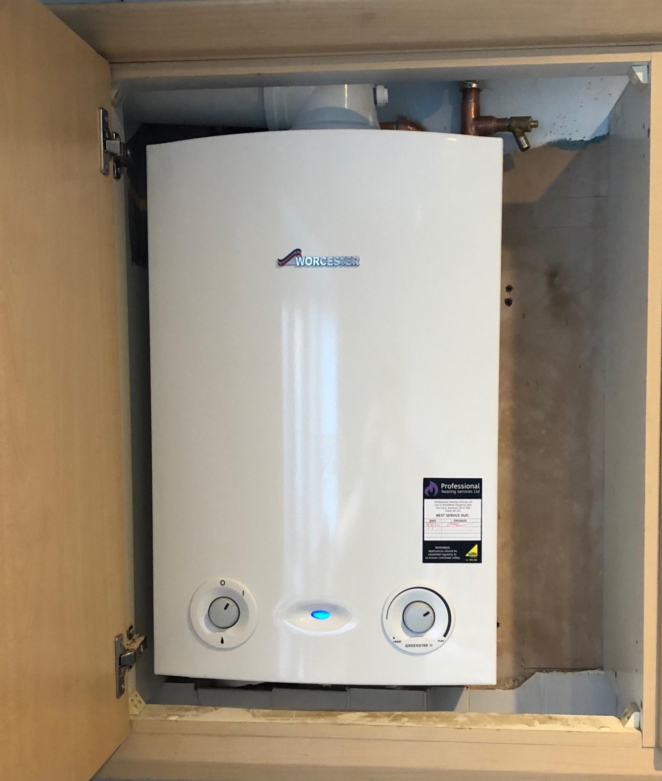 Worcester Greenstar RI + Worcester filter, installed in Reading, Berkshire