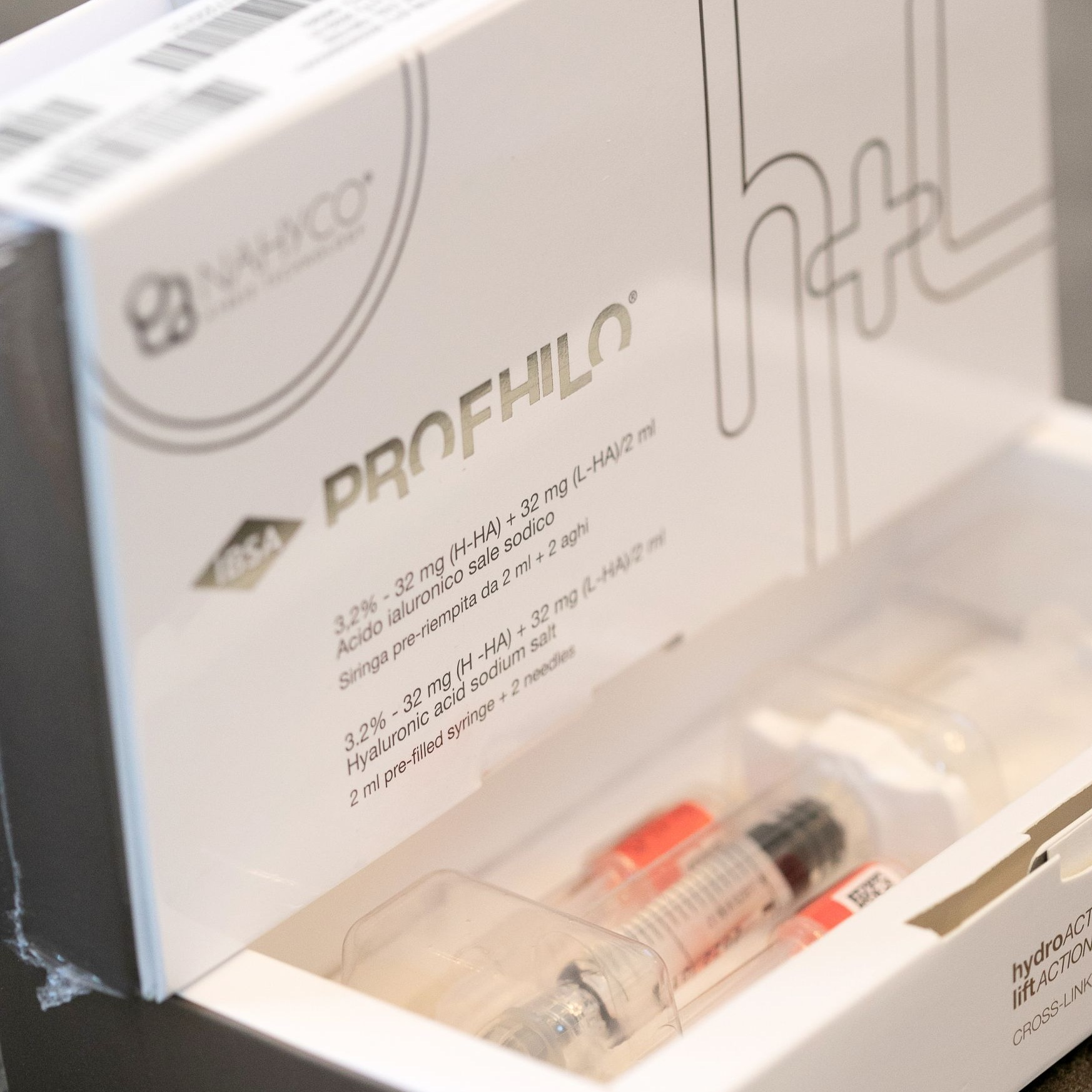 profhilo treatment - Stimulates the production of collagen and elastin, improving skin tone, hydration and the appearance of fine lines for up to 6 months.