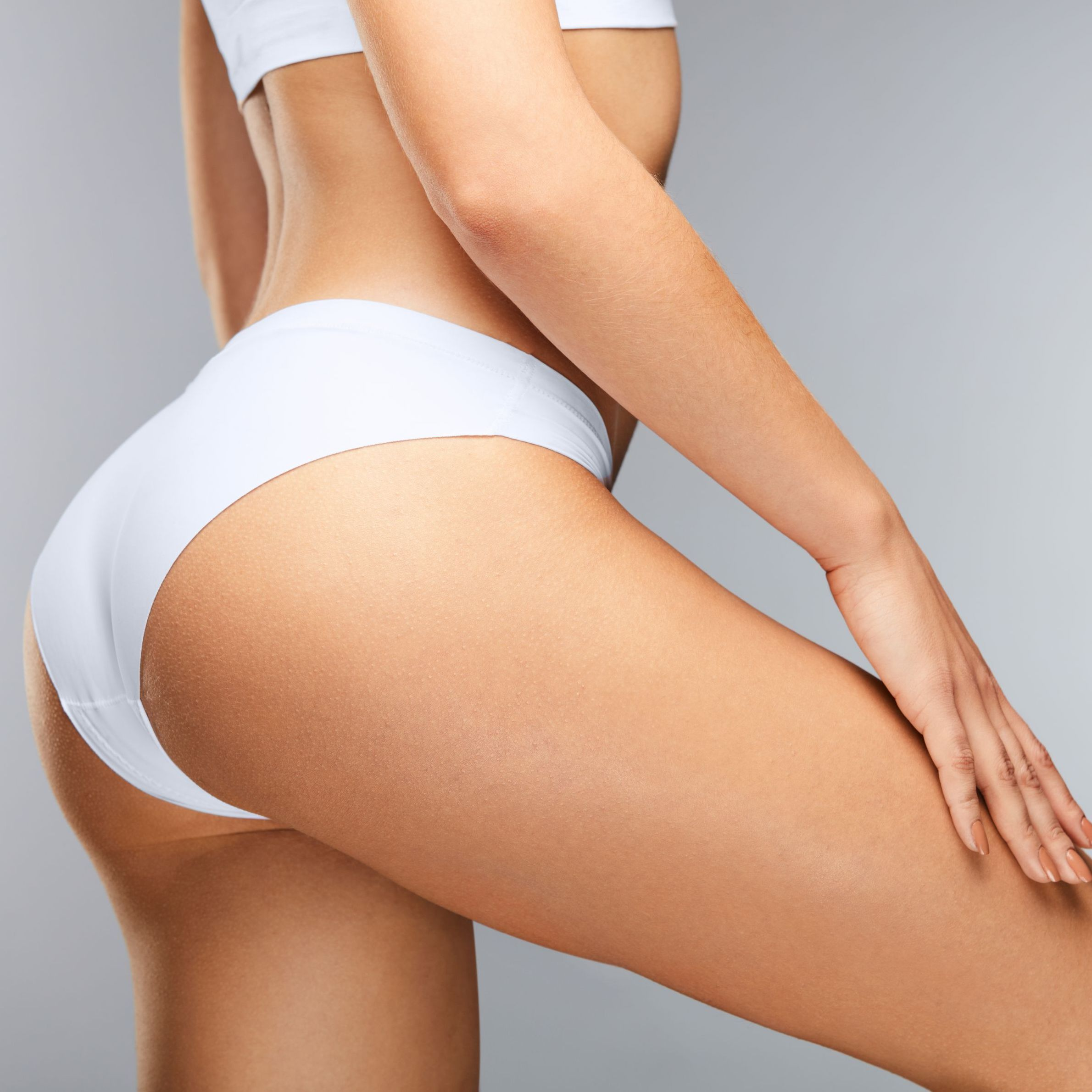 LIPOSUCTION - This procedure removes stubborn fatty tissue from areas such as abdomen and thighs that aren't responding adequately to diet or exercise.