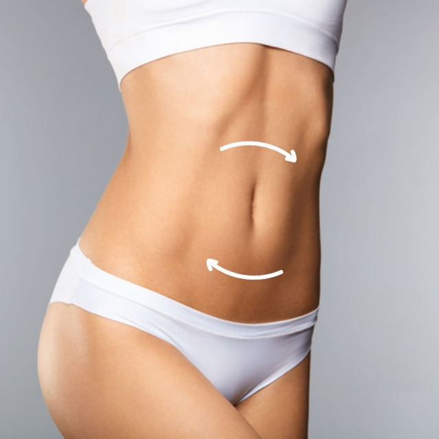 Tummy Tuck - Abdominoplasty removes excess skin and fat, and by rejoining separated tummy muscles, creates a slimmer, smoother and tighter abdominal area.