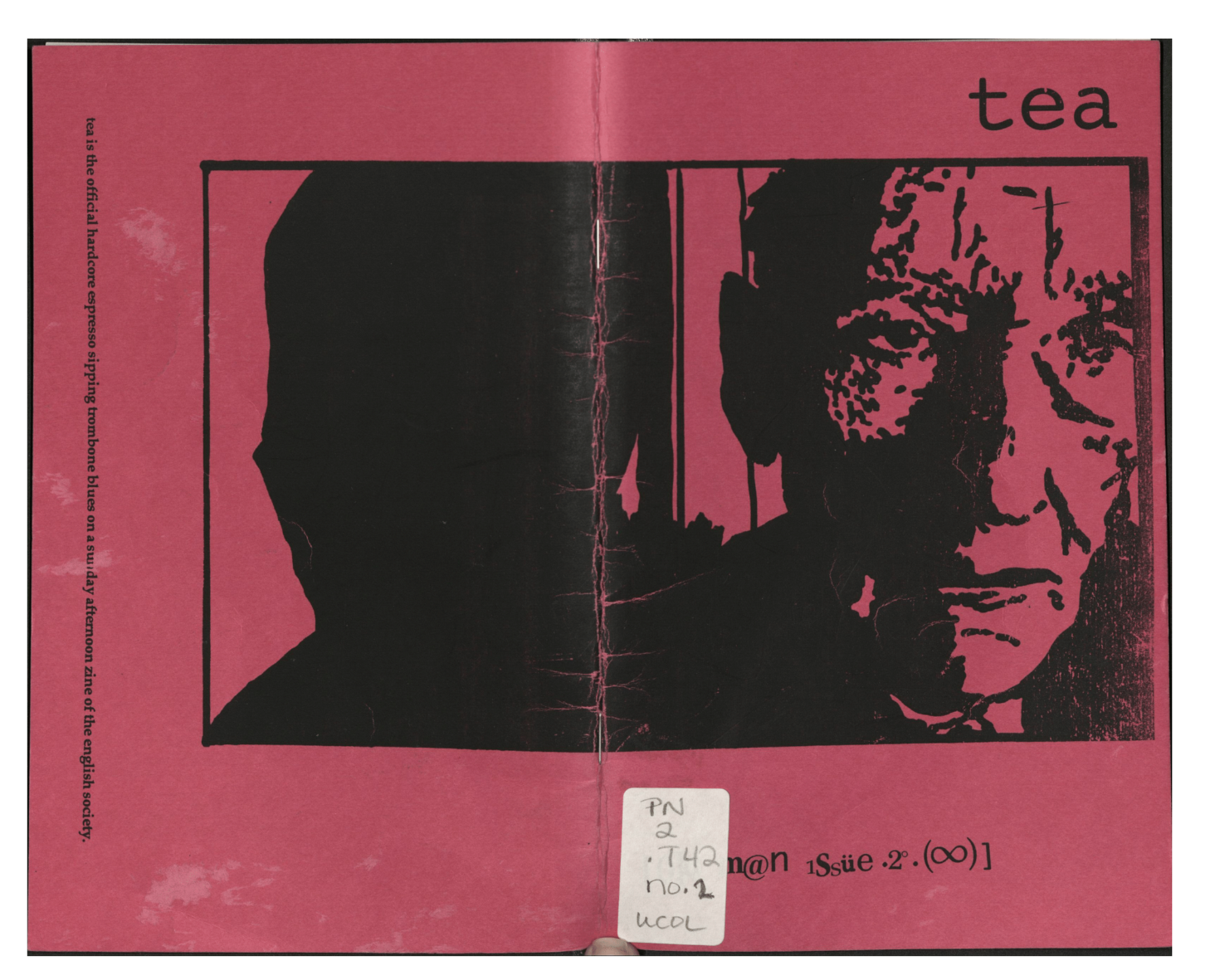 Tea Volume 1, Issue 2, created by  Matthew DeVille  and his team in 1996. Image from the  Grand Reading Room  archives.