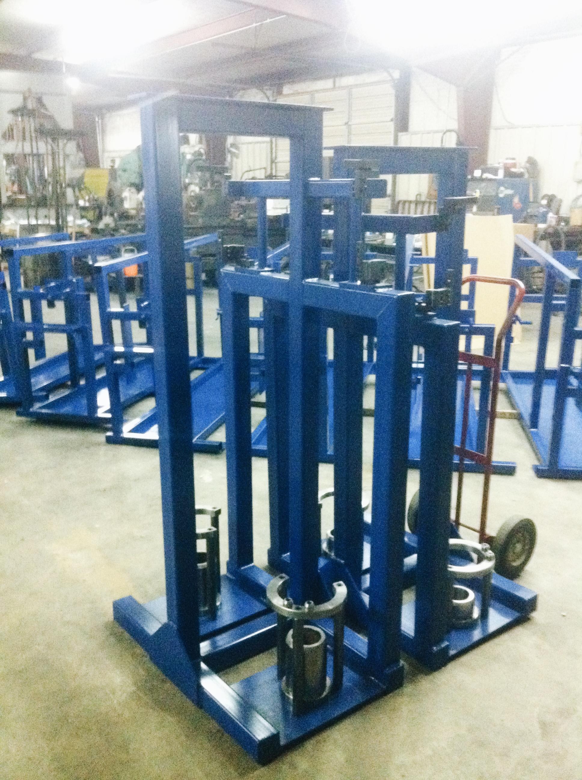 Texas Industrial 12 Assembly Fixtures.JPG