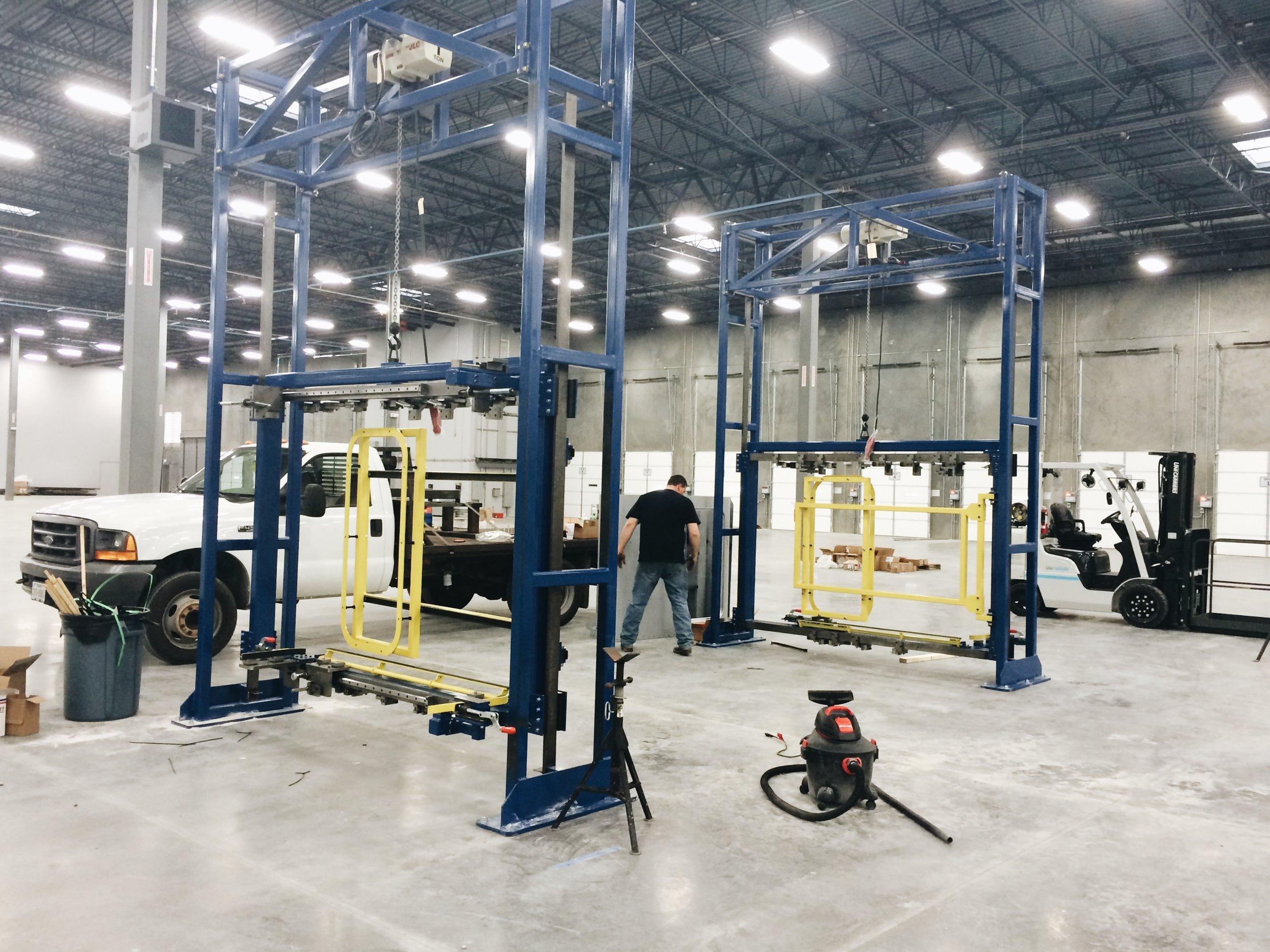Texas Industrial 42 Assembly Fixtures.JPG