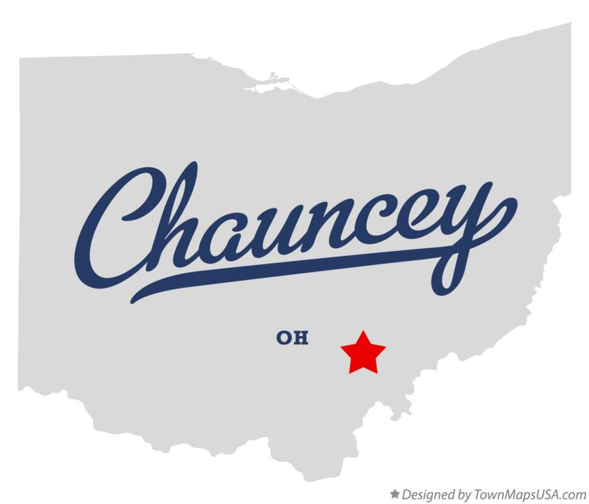 The Village of Chauncey, Ohio Trailhead and COG member