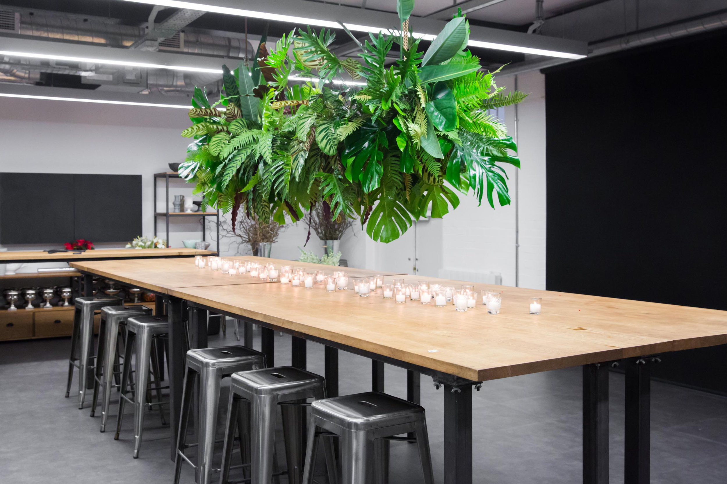 Furniture for London Flower School Design by AIS Workplace
