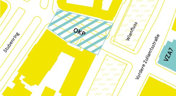UNIVERSITÄT FÜR ANGEWANDTE KUNST WIEN - OKPOskar-Kokoschka-Platz, 1010 WienVZA7Vordere Zollamtsstraße 7, 1030 WienFlux 2 & Hof // 2. StockPortier // Eingang / HochparterreAnfahrtWien Mitte / Landstrasse // U3, U4Stubentor // U3, 2, 74A
