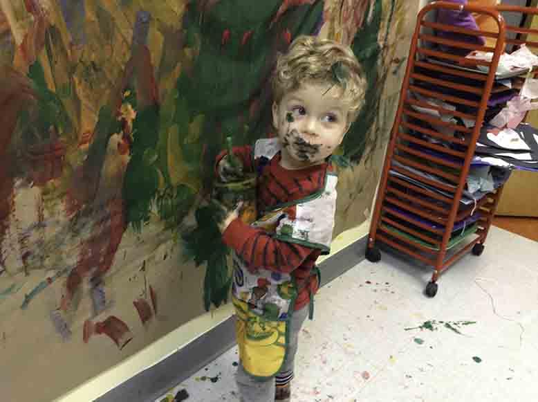 Aaron the Painter, Preschool