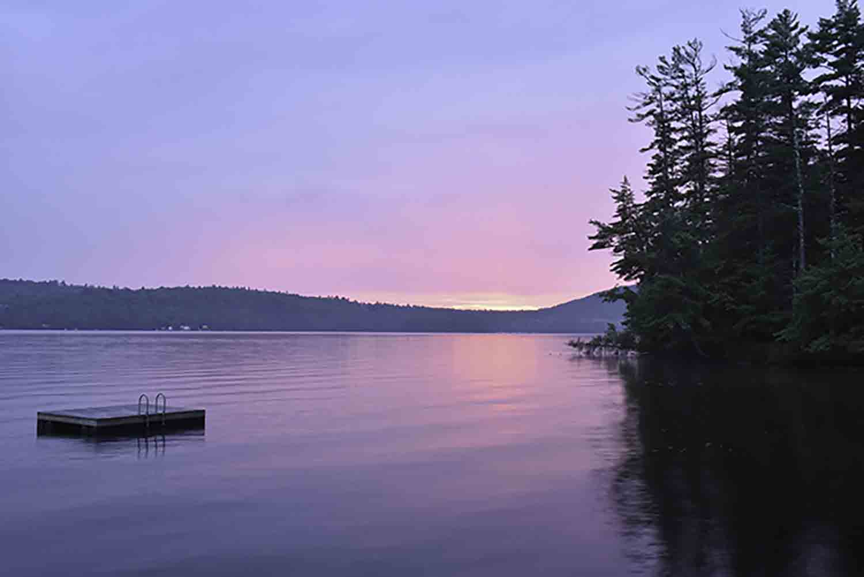 The Davids Home, Peabody Pond, Maine