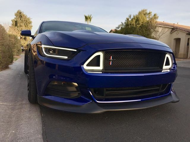 Now, when's the last time you saw anything as sharp as our LED headlights? #Raxiom #AllThingsMustang #FordPerformance #Mustang